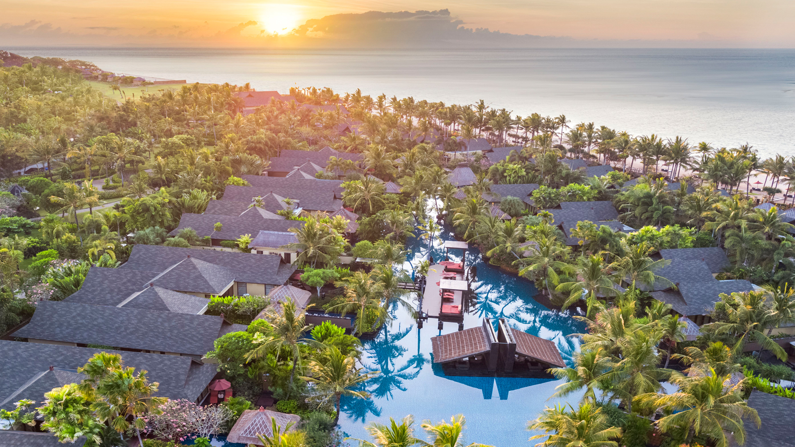 Aerial View - The St. Regis Bali Resort